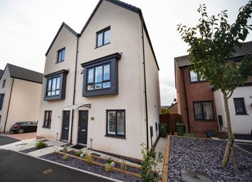 Thumbnail 3 bed town house for sale in Heol Booths, Old St. Mellons, Cardiff