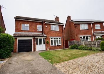 Thumbnail 4 bed detached house for sale in Wyatt Close, Martin