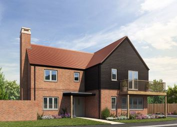 "Thumbnail 4 bed detached house for sale in ""The Saxon"" at Stoney Mews, Winchester"