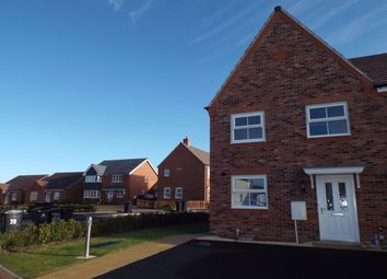 Thumbnail 3 bedroom semi-detached house for sale in Ross Crescent, Inkberrow, Worcester