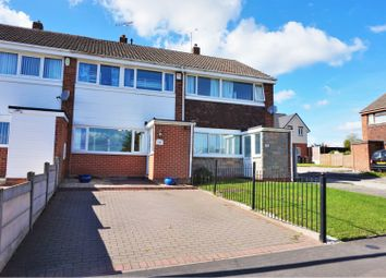 Thumbnail 3 bed town house for sale in Renshaw Drive, Newhall, Swadlincote
