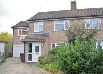 Thumbnail 4 bedroom semi-detached house for sale in Arbutus Close, Moulsham Lodge, Chelmsford, Essex