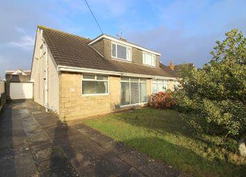 Thumbnail Semi-detached bungalow for sale in Fulmar Road, Porthcawl, Bridgend.