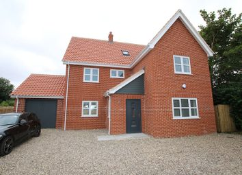 Thumbnail 5 bed detached house for sale in St. Peters Close, Rockland St. Peter, Attleborough