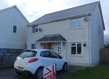 Thumbnail 2 bedroom semi-detached house to rent in Tudor Gardens, Merlins Bridge, Haverfordwest