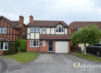Thumbnail 4 bed detached house for sale in Richmond Close, Hollywood, Birmingham, West Midlands.