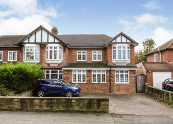 Thumbnail 5 bed semi-detached house for sale in Danson Mead, Welling