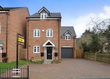 Thumbnail 4 bed detached house for sale in Armitage Road, Rugeley, Staffordshire