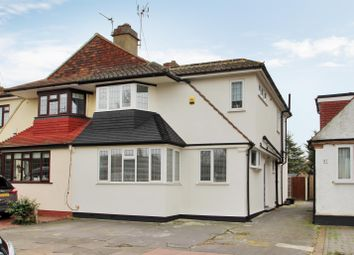 Thumbnail 4 bed semi-detached house for sale in Crombie Road, Sidcup, Kent