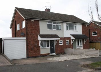 Thumbnail 3 bed semi-detached house for sale in Bude Drive, Glenfield, Leicester