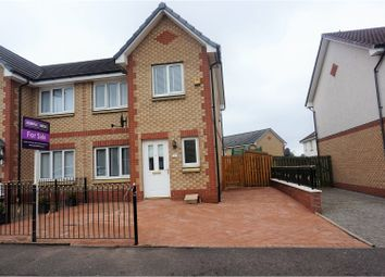 Thumbnail 3 bed semi-detached house for sale in Inchoch Street, Glasgow