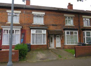 Thumbnail Terraced house for sale in Wilton Road, Handsworth, Birmingham