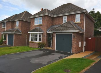 Thumbnail 4 bed detached house for sale in Holly Drive, Market Drayton