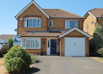 Thumbnail 4 bed detached house for sale in Geddes Close, Hawkinge, Folkestone