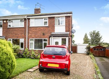 Thumbnail 3 bed semi-detached house for sale in Oathills Drive, Tarporley