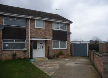 Thumbnail 3 bed semi-detached house to rent in Linford Avenue, Newport Pagnell