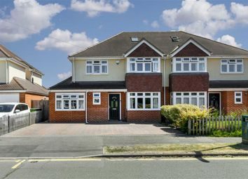 Thumbnail 4 bed semi-detached house for sale in Danetree Road, West Ewell, Surrey