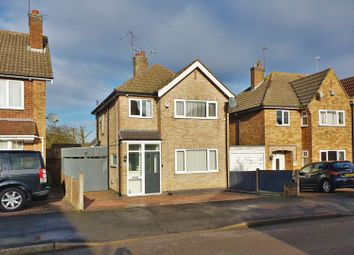 Thumbnail 3 bed detached house for sale in Harrowgate Drive, Birstall, Leicester