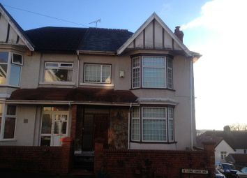 Thumbnail 4 bed semi-detached house to rent in Long Oaks Avenue, Uplands, Swansea