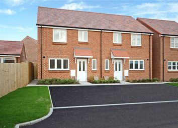 Thumbnail 3 bed semi-detached house for sale in Swinburn Road, Andover, Hampshire