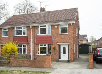 Thumbnail 3 bed semi-detached house for sale in Tisbury Road, York