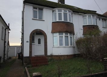 Thumbnail Semi-detached house to rent in Poplar Avenue, Hove