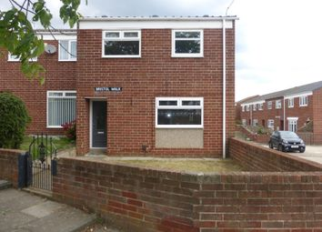 Thumbnail 3 bed terraced house to rent in Bristol Walk, Hartlepool