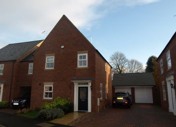 Thumbnail 3 bed detached house for sale in Pearmain Close, Newport Pagnell, Buckinghamshire
