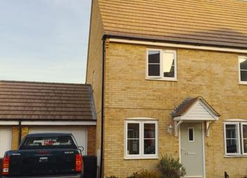 Thumbnail 2 bed terraced house to rent in Savernake Drive, Little Stanion, Corby, Northamptonshire