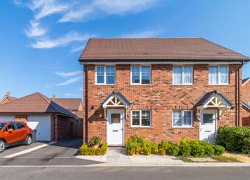 Thumbnail 2 bed semi-detached house for sale in Bobbin Road, Andover