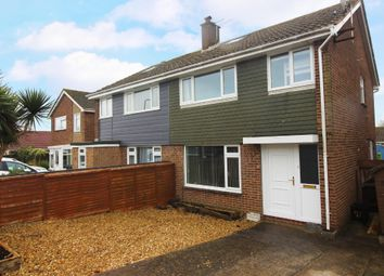 Thumbnail 3 bed semi-detached house to rent in Roselands Drive, Paignton