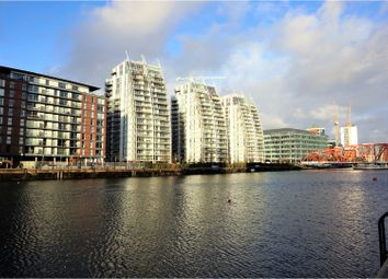 Thumbnail 2 bed flat for sale in 100 The Quays, Salford