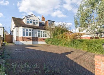 Thumbnail 5 bed semi-detached bungalow for sale in St. Leonards Road, Nazeing, Essex