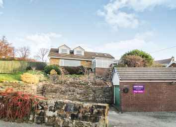 Thumbnail 4 bed detached bungalow for sale in Nant Road, Coedpoeth