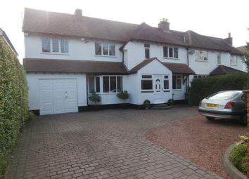 Thumbnail 4 bed semi-detached house for sale in Chester Road, Streetly, Sutton Coldfield