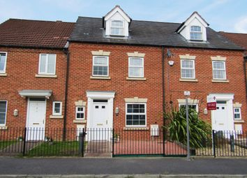 Thumbnail 4 bedroom town house to rent in Haslam Court, Chesterfield