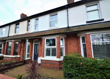 Thumbnail 3 bed terraced house for sale in Ellesmere Road, Stockton Heath, Warrington