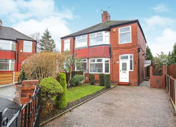 Thumbnail 3 bedroom semi-detached house for sale in Burnside Avenue, Heaton Chapel, Stockport