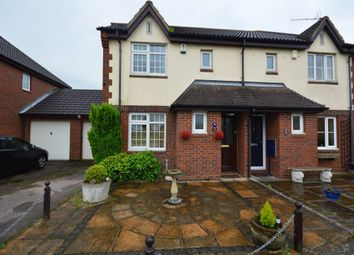 Thumbnail 3 bed semi-detached house to rent in Howlsmere Close, Halling, Rochester