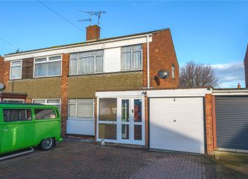 Thumbnail 3 bed semi-detached house for sale in Conway Avenue, Great Wakering, Southend-On-Sea, Essex