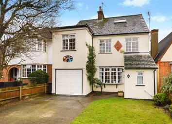Thumbnail 5 bedroom detached house for sale in Hawfield Gardens, Park Street, St. Albans