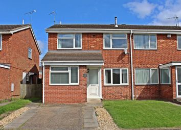 Thumbnail 3 bed semi-detached house for sale in Rosegreen Close, Cheylesmore, Coventry