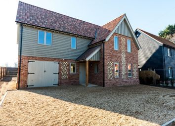 Thumbnail 5 bed detached house for sale in Church Road, Wretham, Thetford, Norfolk