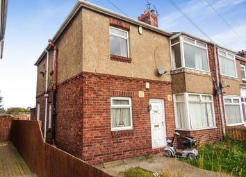 Thumbnail 2 bedroom flat to rent in Plessey Road, Blyth
