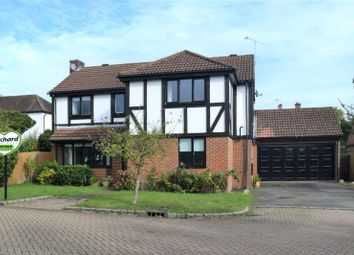 Thumbnail 4 bed detached house for sale in Stable Croft, Bagshot, Surrey