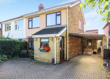 Thumbnail 3 bedroom semi-detached house for sale in Hockwold Road, Weeting, Brandon