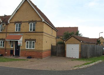 Thumbnail 3 bed end terrace house for sale in Leaman Close, High Halstow, Rochester
