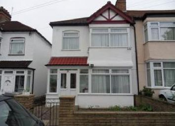 Thumbnail 3 bed end terrace house to rent in Queensbury Road, Kingsbury, London