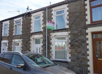 Thumbnail 3 bed terraced house to rent in Whitefield Street, Ton Pentre