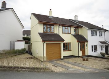 Thumbnail 4 bed semi-detached house for sale in Trematon Drive, Ivybridge